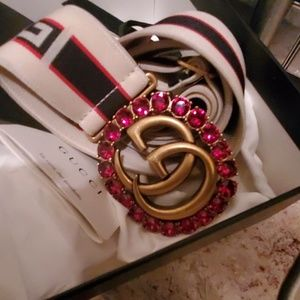 Gucci adjustable belt